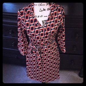 Never worn Julie Brown wrap dress w/tags